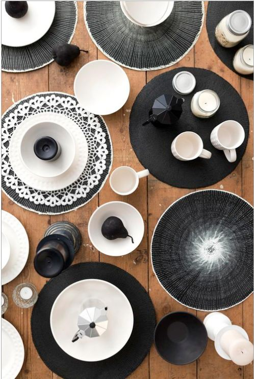 The Hall homewares typo review black and white interior