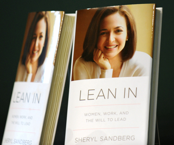Facebook COO Sheryl Sandberg Promotes New Book At Barnes & Noble